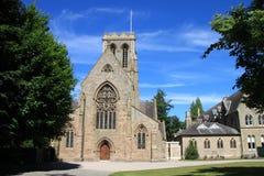 Uma igreja e um convento imagem de stock