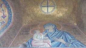 Uma igreja em Atenas Grécia Imagens de Stock