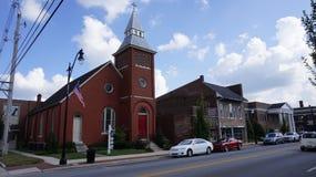 Uma igreja em Bardstown Fotos de Stock Royalty Free