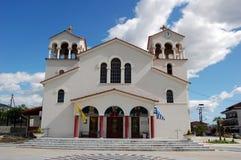 Uma igreja em Greece Foto de Stock