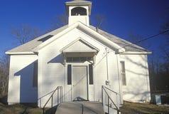 Uma igreja em Ozarks MO fotos de stock royalty free