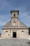 Uma igreja francesa fotografia de stock royalty free