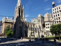 Uma igreja histórica conhecida fotos de stock royalty free
