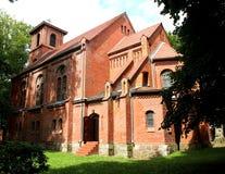 Uma igreja medieval Imagens de Stock Royalty Free