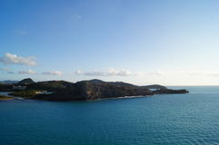 Uma ilha Fotografia de Stock Royalty Free