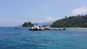 uma ilha Fotografia de Stock