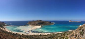 uma ilha de deserto Foto de Stock