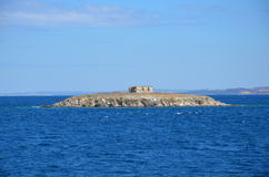 uma ilha minúscula em greece Fotografia de Stock
