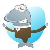 Tubarão do negócio Fotografia de Stock Royalty Free