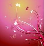 Uma ilustração floral bonita do vetor Fotografia de Stock Royalty Free