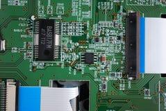 Uma imagem de um processador Foto de Stock Royalty Free