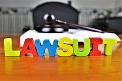 Uma imagem de um processo legal, legal, advogado do conceito Imagem de Stock Royalty Free