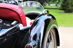 Uma imagem de um side-car da motocicleta imagem de stock royalty free