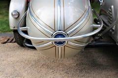 Uma imagem de um side-car da motocicleta fotografia de stock royalty free