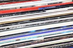 Uma imagem do conceito de um registro de vinil - lp, vintage fotos de stock royalty free