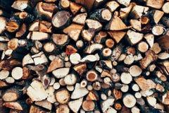 Uma imagem do fundo de madeira da textura Foto de Stock