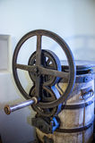 Uma imprensa da mão velha imagem de stock