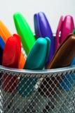 Uma indicação colorida   fotos de stock