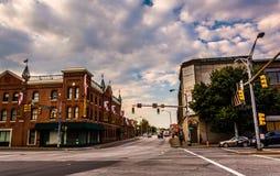 Uma interseção em Baltimore, Maryland Imagem de Stock Royalty Free