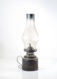 uma lâmpada de óleo sobre um fundo branco Foto de Stock Royalty Free