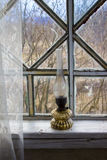Uma lâmpada de querosene velha Fotos de Stock