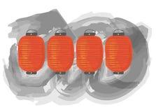 Uma lanterna Imagens de Stock