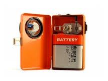Uma lanterna elétrica 03 do vintage (04 retros) Imagens de Stock Royalty Free