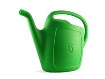 Uma lata molhando (jardim 01) Fotografia de Stock