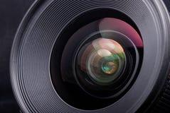 Uma lente de câmera fotos de stock royalty free