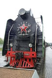 Uma locomotiva de vapor velha Fotos de Stock Royalty Free
