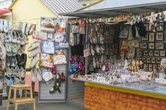 Uma loja de lembrança Fotos de Stock Royalty Free