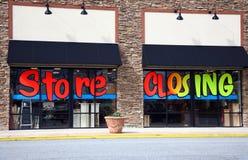 Uma loja que seja saída do negócio Fotos de Stock