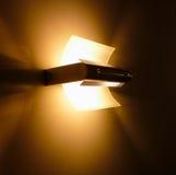 Uma luz bonita do projeto na parede Fotografia de Stock Royalty Free