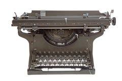 Uma máquina de escrever antiga fotografia de stock royalty free