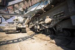 Uma máquina de mineração enorme Imagem de Stock Royalty Free