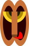 Uma máscara do ` s do leão ilustração do vetor