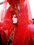 Uma máscara no carnaval de Veneza imagens de stock