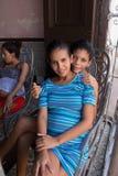 Uma mãe solteira Foto de Stock Royalty Free