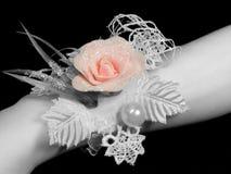 uma mão da noiva Fotografia de Stock Royalty Free