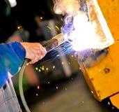 Uma mão do trabalhador Imagem de Stock Royalty Free