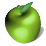 Uma maçã Fotografia de Stock