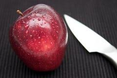 Uma maçã um o dia Imagem de Stock