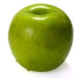 Uma maçã verde Fotos de Stock Royalty Free
