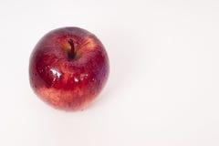 Uma maçã vermelha Fotografia de Stock Royalty Free