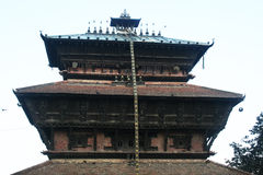 Uma maheshwar. The old newari temple of uma mashwar at kirtipur in nepal Stock Photo