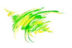Mancha 3 da mola ilustração stock