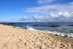Uma manhã no mar Báltico Fotografia de Stock Royalty Free