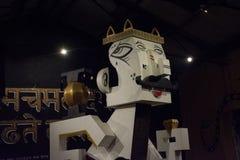 Uma mascote crafted - 2 imagem de stock