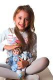Uma menina Imagem de Stock Royalty Free