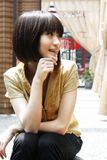 Uma menina chinesa Fotos de Stock Royalty Free